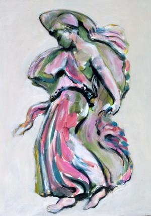 Dancing Figure Sketch