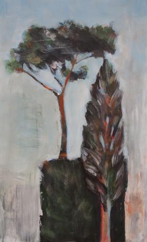 Italian Garden - Trees