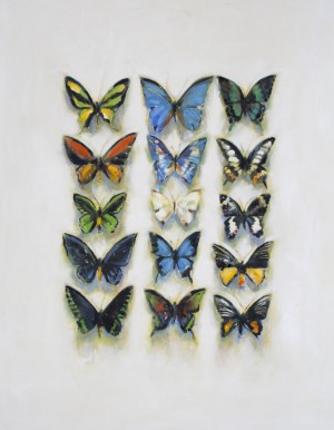 Butterflies with Yellow Shadow