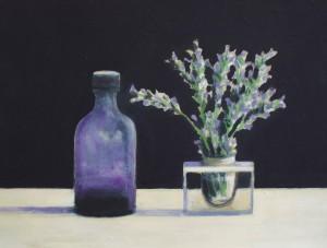Violet Ink & Lavender