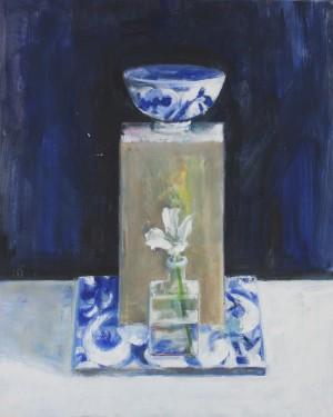 Lily,Tile,Blue