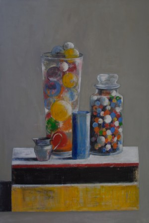 Glass,Balls,Marbles&FabergeJug
